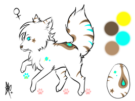 egg adoptable -closed- by RippedMoon