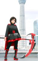 Photo-OFF at the SKY TREE, Dec. 2014,/ Ruby Rose-3 by chocolate-array