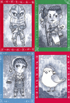 2014 Christmas Cards - Part 2 by Weissidian