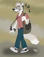 Jason Strolls by FreyFox