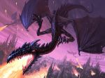 Dragon's Attack by Andead