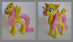 Fluttershy Plush by Catfruits