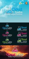 Cloud Labs Logo Template by LuisFaus