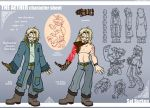 Character Sheet:  Sal Burken by Sheana