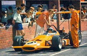 Bruce McLaren (South Africa 1969) by F1-history