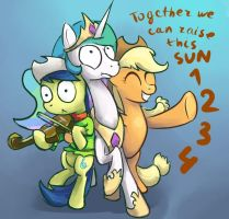 RAISE THIS SUN 1234 by vapgames