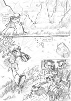 Kickin In Skirt: P.7 by BrokenDeathAngel