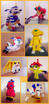 lego digimon by n-joe