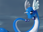 Dragonair speedpaint by Jiayi