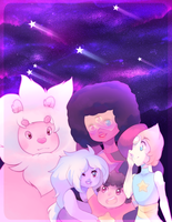 The Crystal Gems by pekou