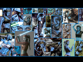 Aayla Secura Wallpaper by Thimburd