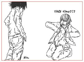 201 : Death Note : Yaoi Time by witegots