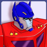 Animated Optimus Prime 4 by J-666