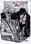 Batman and Joker - Rockabilly Universe by DenisM79