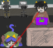 Homestuck: cats will be cats by NancyStageRat