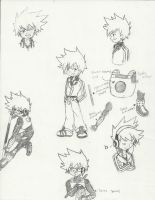 CL: Chase Merrick/Blaise sketches by chrisolian