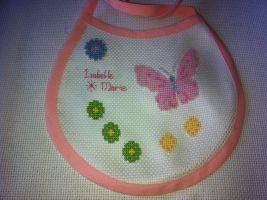 Isabelle Marie Bib by Angie-Jane