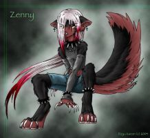 Zenny Colored by RizyuKaizen