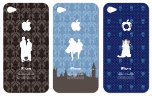 SHERLOCK iphone cover4 by 403shiomi