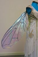 Large Iridescent Fly Wings by FaeryAzarelle