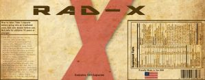 Rad-X Label by appleofecstacy