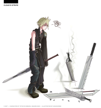 Cloud's Strife by candytheory
