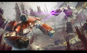 Transformers :War of prime by iceyang