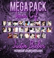 MEGA PACK ICONOS GIF JUSTIN BIEBER by FixABieber
