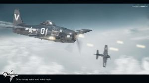 Grumman Bearcat on Imagine War by torrikabe