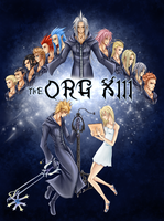 The Org XIII by TenchuuYoukai