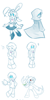 OC Doodles 4 by WHATiFGirl