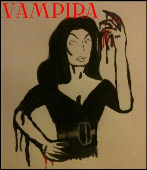 Vampira by HamletTheDetective