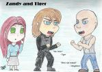 Chibi Tiger and Zandy by Momstheteacher