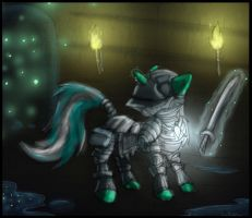 Day 7: Dark Souls Pony Edition by dreigun