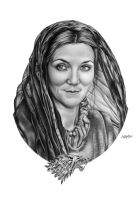 Catelyn Stark COMMISSION by Mutemouia