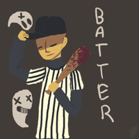 Batter by aroace-pirate