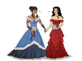 Korrasami Wedding Dresses! by MegaBadBunny