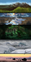 .matte.painting. by mrssEclipse