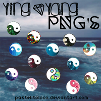 YingYang PNG's By PastelitoLoco by PastelitoLoco