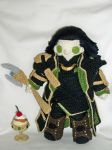 Lokiplushie (one of two) by MasterPlanner