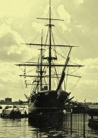 HMS Warrior by Belgarion11