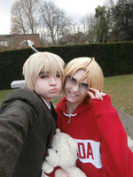Can and Iggy cosplay by Julesie