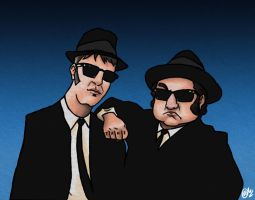 The Blues Brothers by MatheusBOliveira