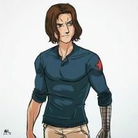 Casual Friday: Winter Soldier by AndrewKwan