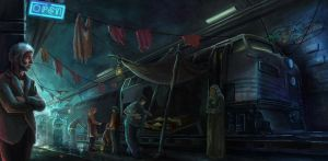 Railway Black Market by Tekuuei