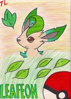 Leafeon by Lioheart25