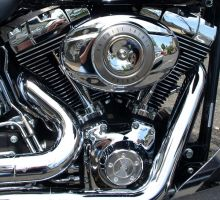 Full Harley Davidson Engine by BillyJ