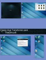 Classic Blue TransformerPack X64 by TheDhruv