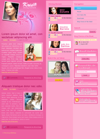 Kris's Blog Design Study v.3 by rheyzer
