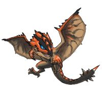 MH3U serie - Chibi Rathalos by 9be